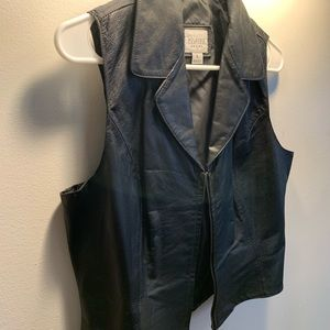 Wilson's leather authentic cropped vest